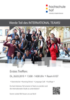 1. Treffen des International Teams